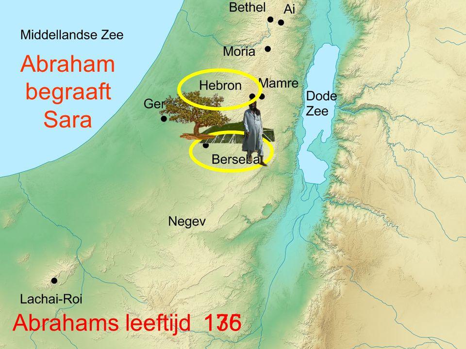 Abraham begraaft Sara Abrahams leeftijd 175 136