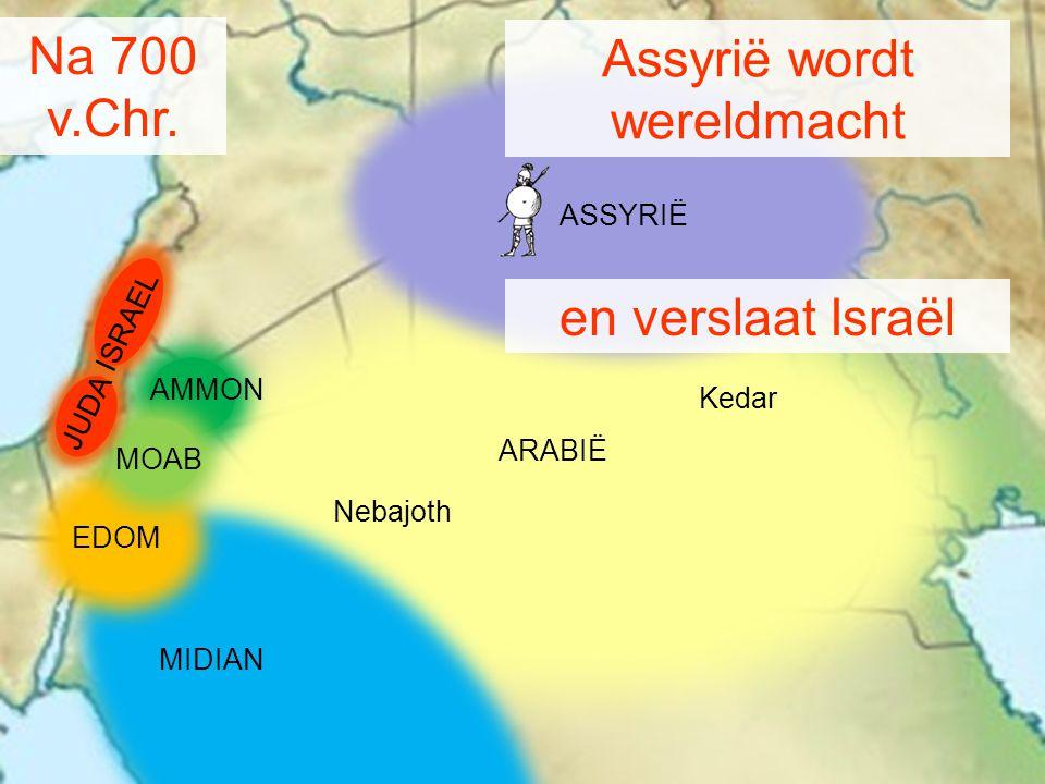 Assyrië wordt wereldmacht