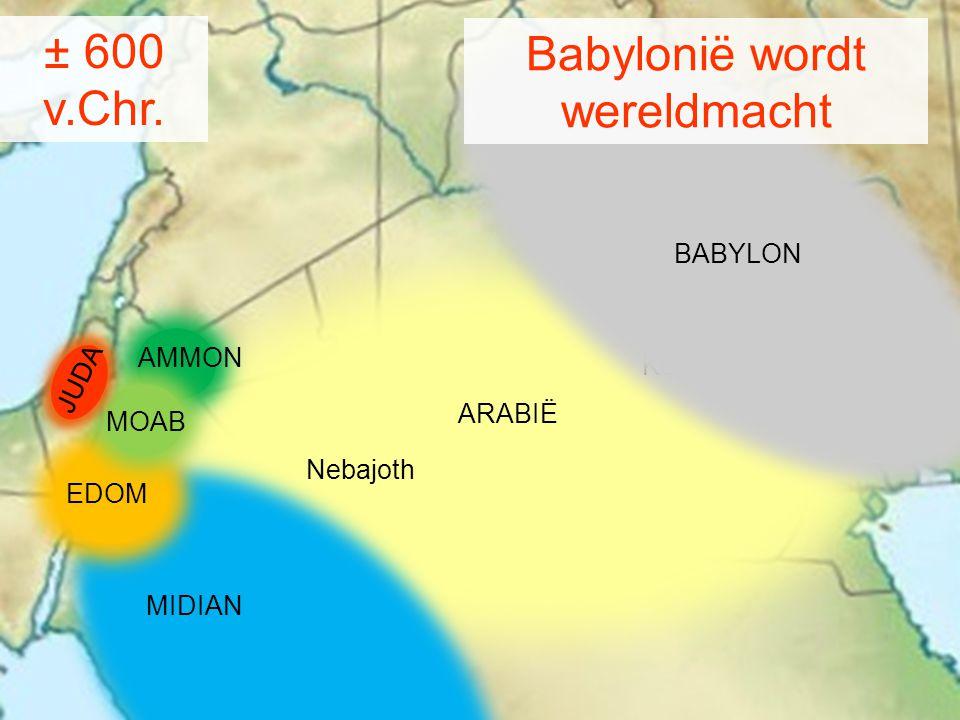 Babylonië wordt wereldmacht