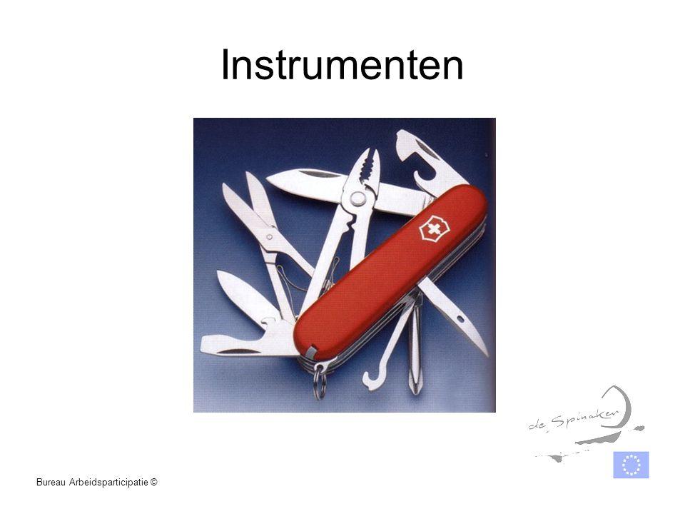 Instrumenten Bureau Arbeidsparticipatie ©