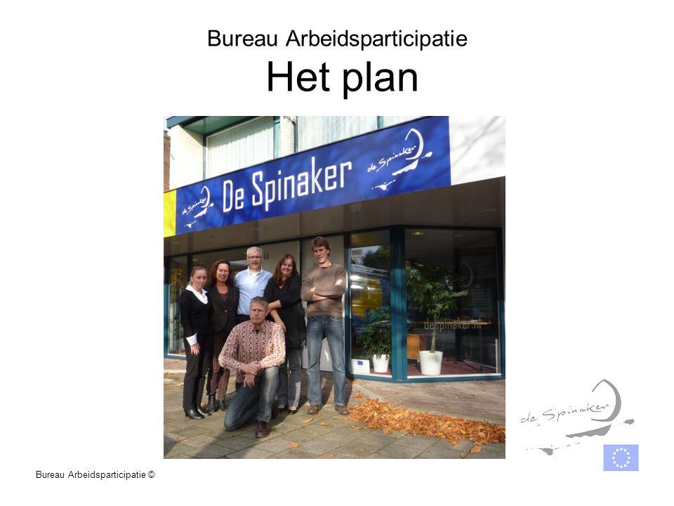 Bureau Arbeidsparticipatie Het plan