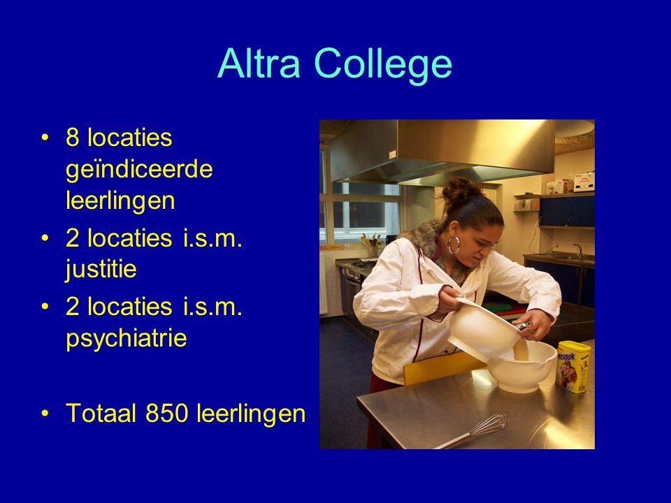 Altra College 8 locaties geïndiceerde leerlingen