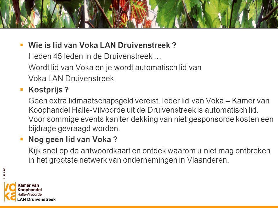 Voka LAN Druivenstreek