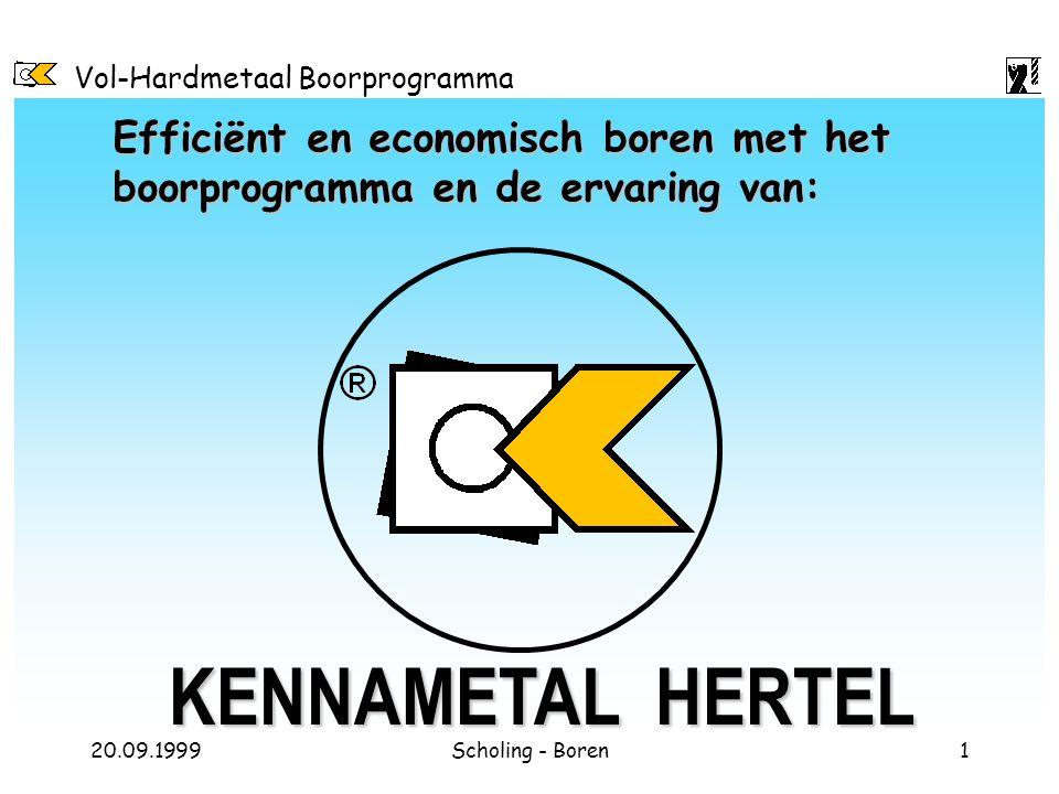 Efficiënt en economisch boren met het boorprogramma en de ervaring van: