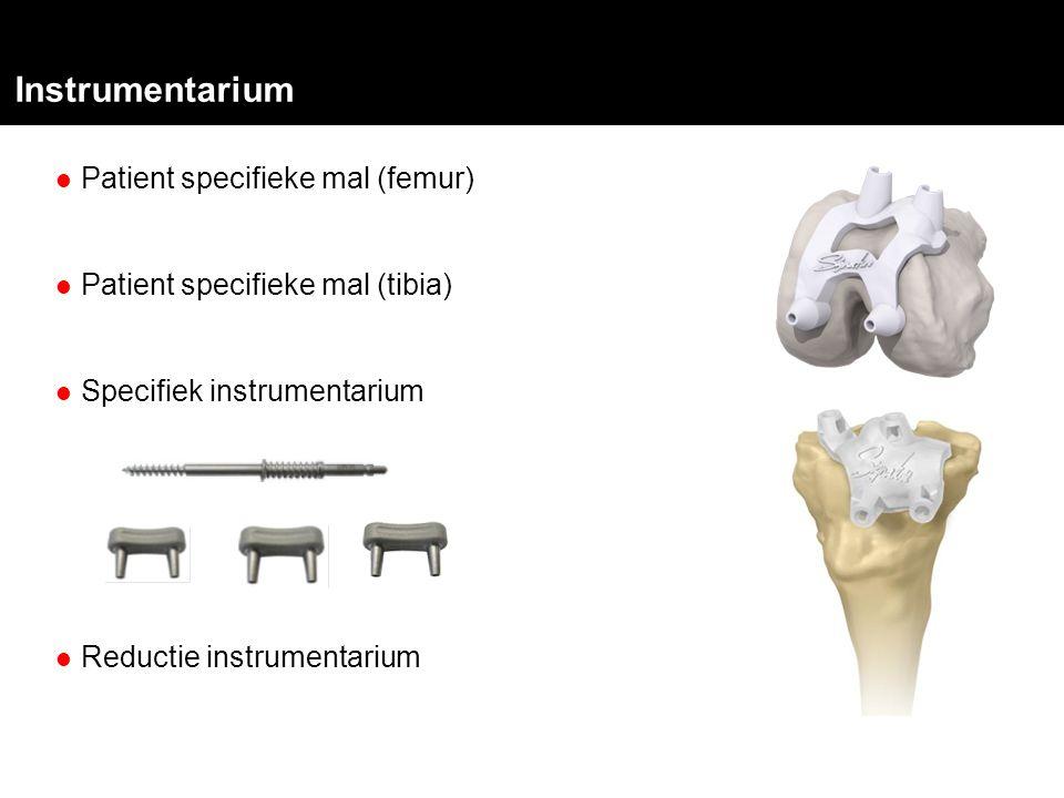 Instrumentarium Patient specifieke mal (femur)