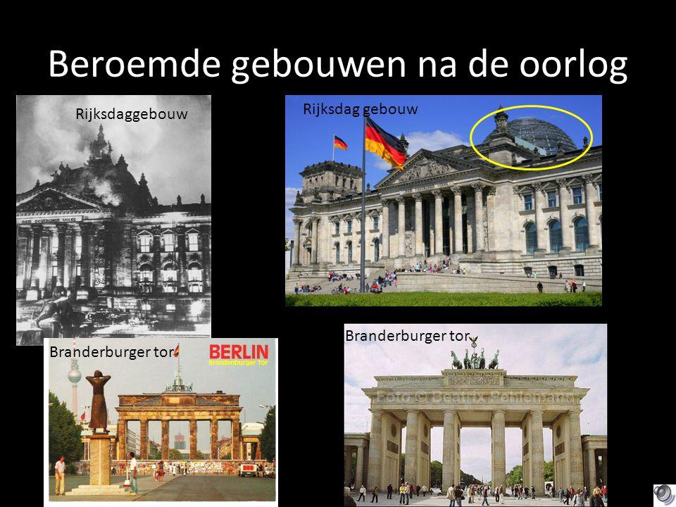 Beroemde gebouwen na de oorlog