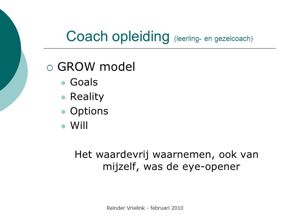 Coach opleiding (leerling- en gezelcoach)