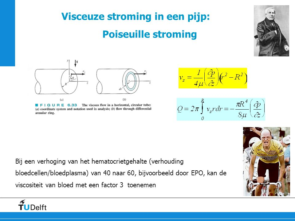 Visceuze stroming in een pijp: Poiseuille stroming