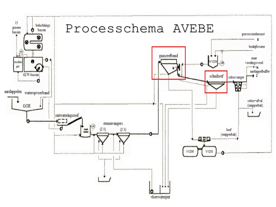 Processchema AVEBE