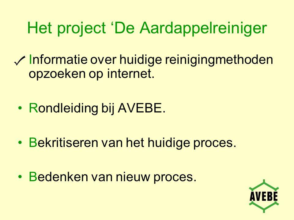 Het project 'De Aardappelreiniger