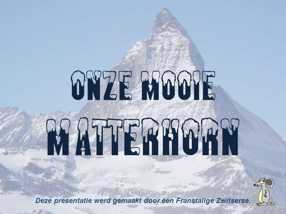 Deze presentatie werd gemaakt door een Franstalige Zwitserse.