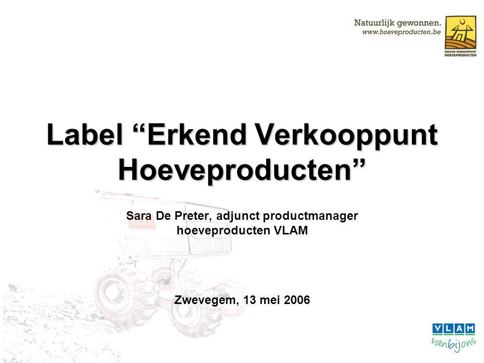 Label Erkend Verkooppunt Hoeveproducten