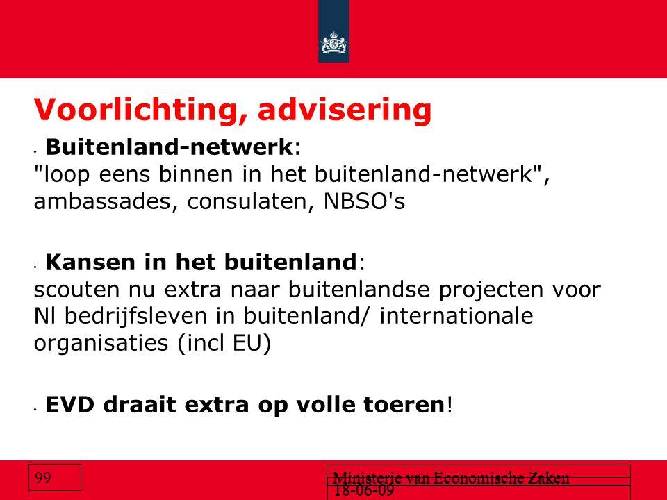 Voorlichting, advisering