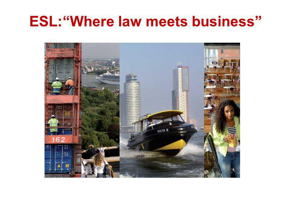 ESL: Where law meets business