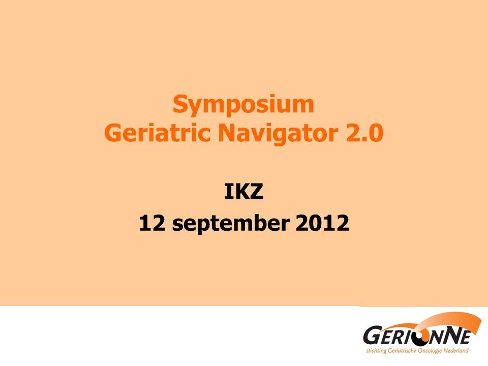Symposium Geriatric Navigator 2.0