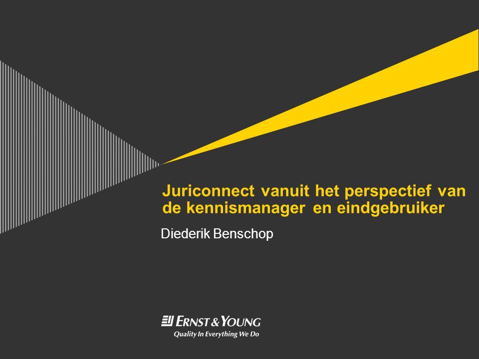 Juriconnect vanuit het perspectief van de kennismanager en eindgebruiker