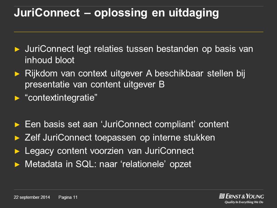 JuriConnect – oplossing en uitdaging
