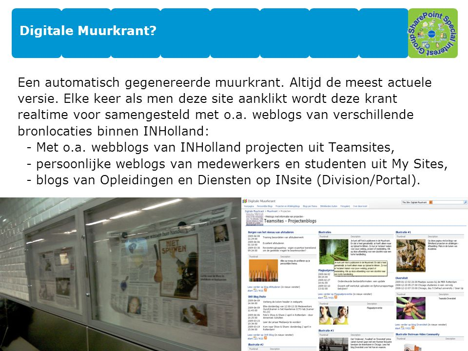Digitale Muurkrant