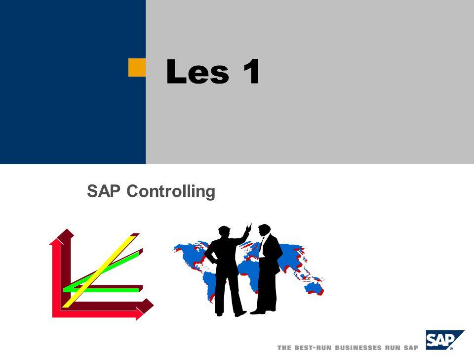 4/5/2017 Les 1 SAP Controlling
