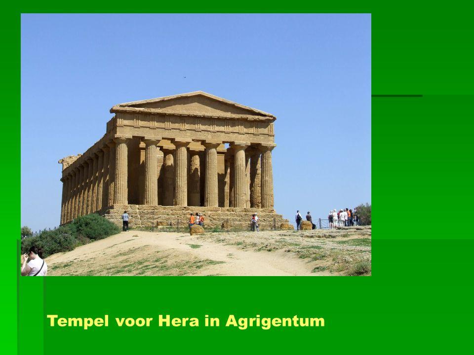 Tempel voor Hera in Agrigentum