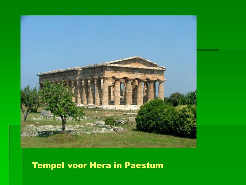 Tempel voor Hera in Paestum