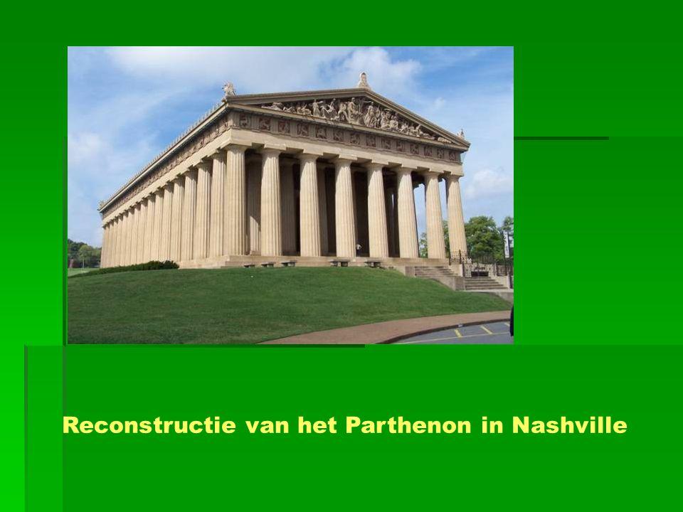 Reconstructie van het Parthenon in Nashville