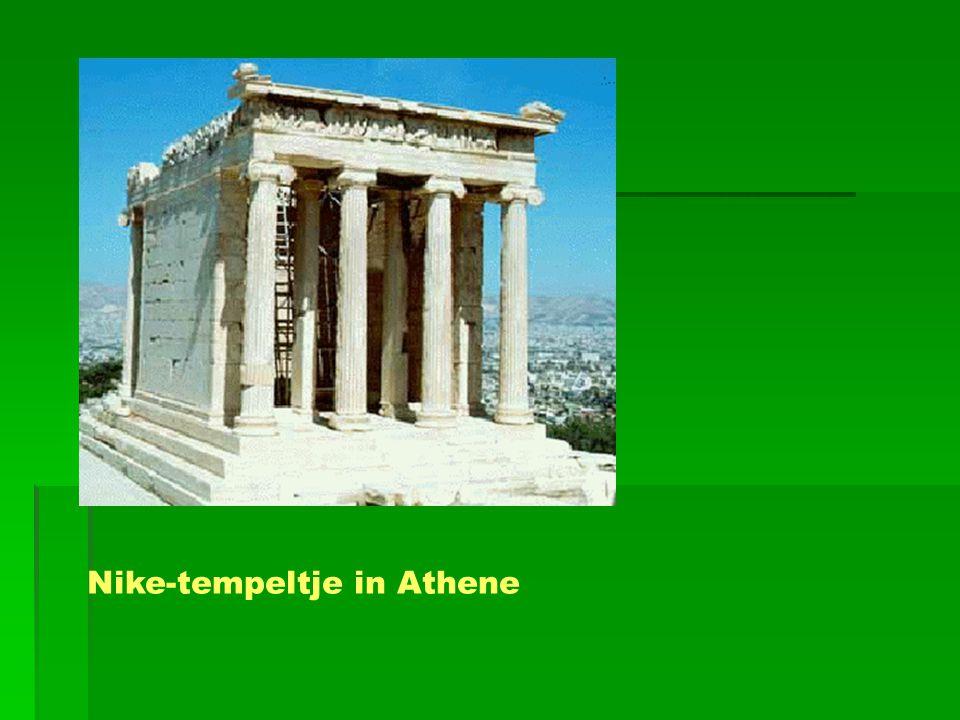 Nike-tempeltje in Athene
