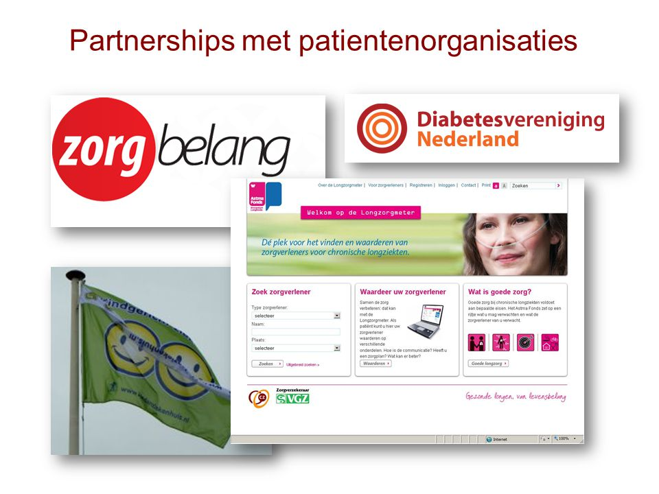 Partnerships met patientenorganisaties