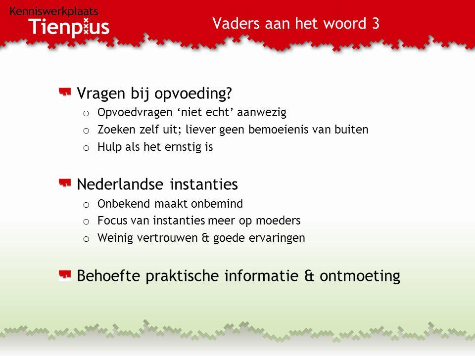 Nederlandse instanties