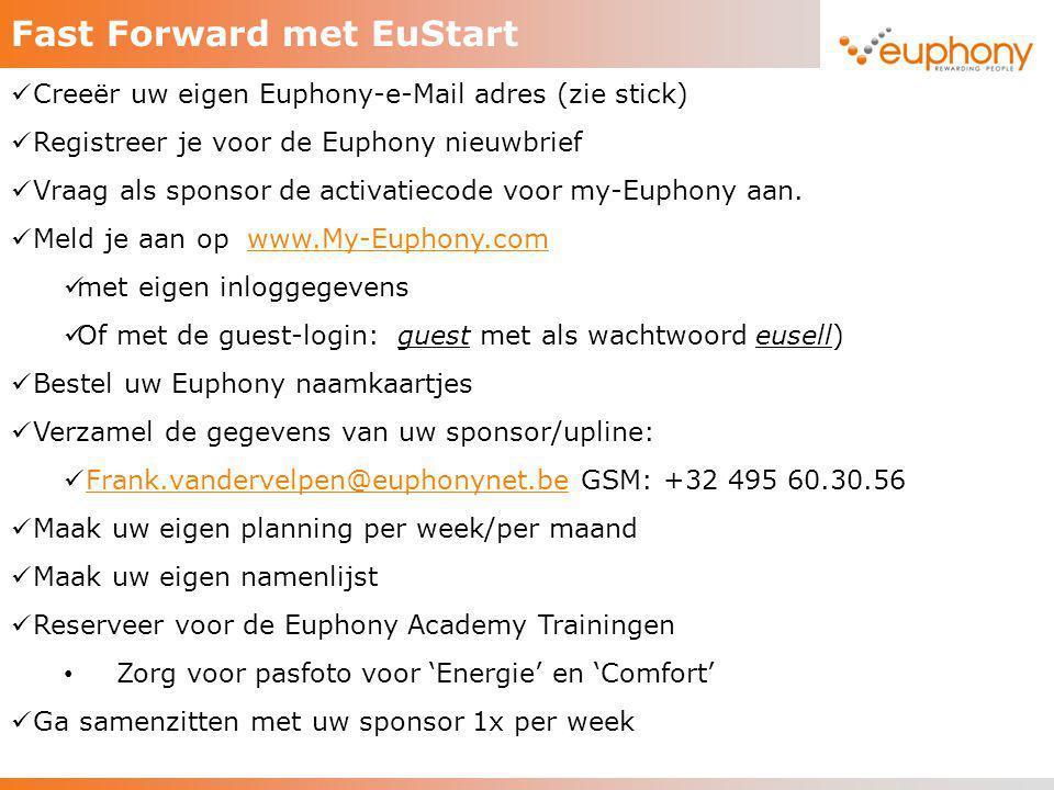 Fast Forward met EuStart