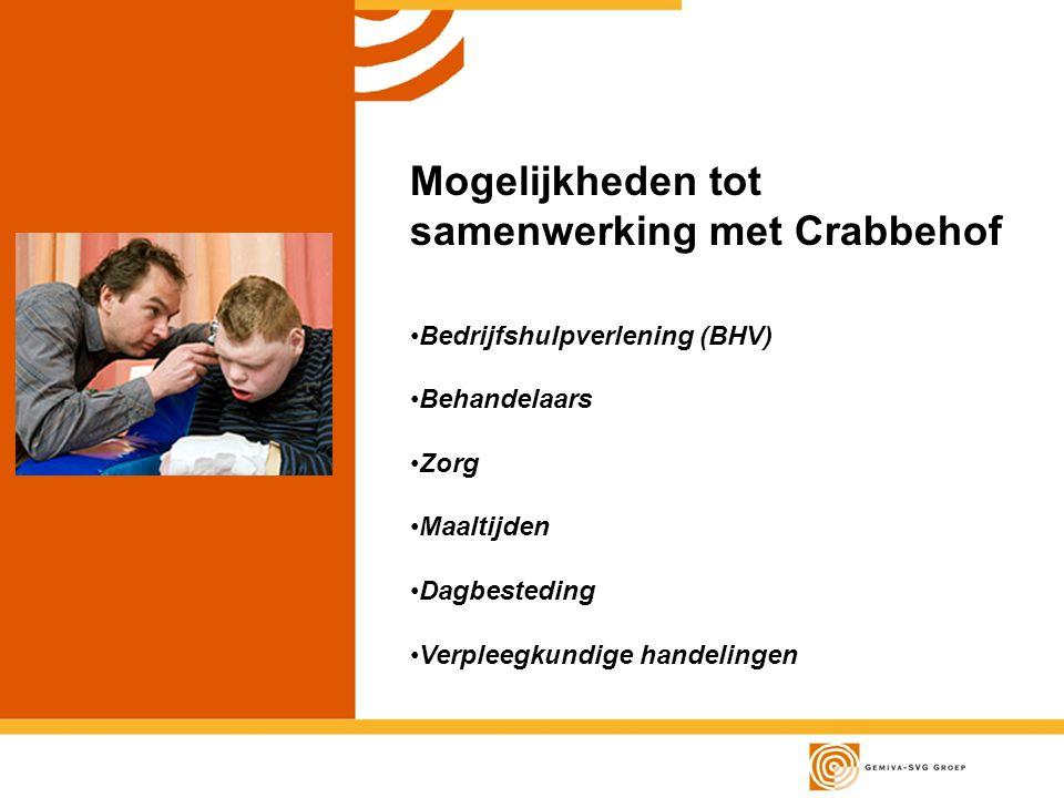 Mogelijkheden tot samenwerking met Crabbehof