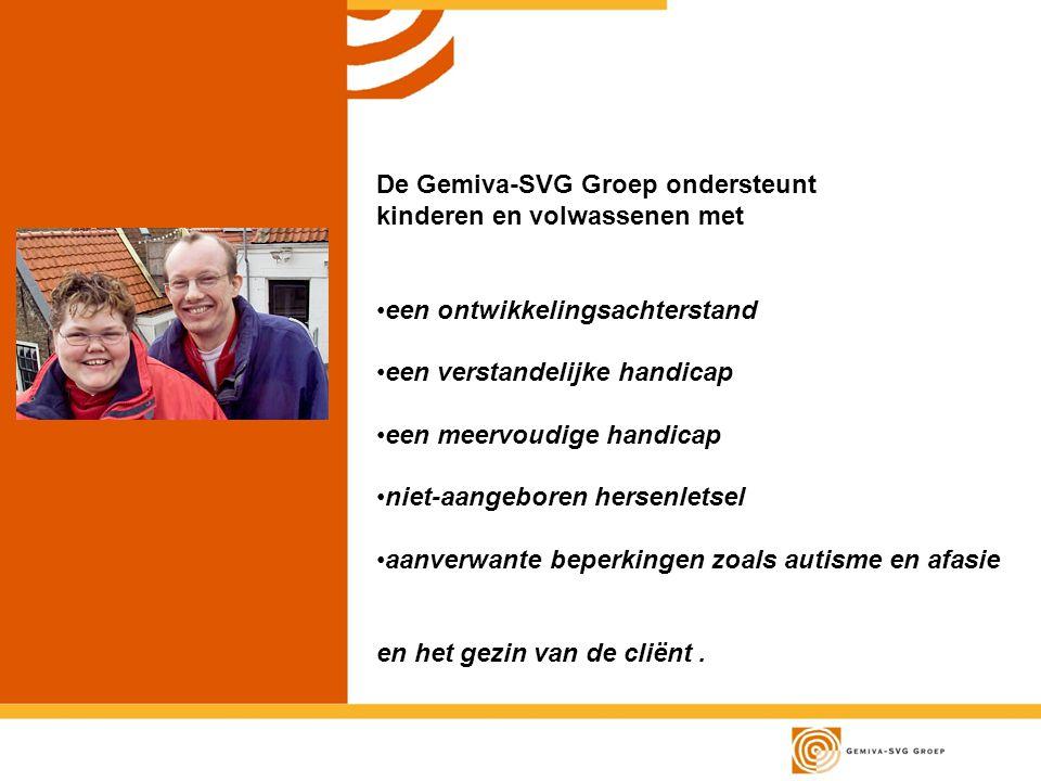 De Gemiva-SVG Groep ondersteunt