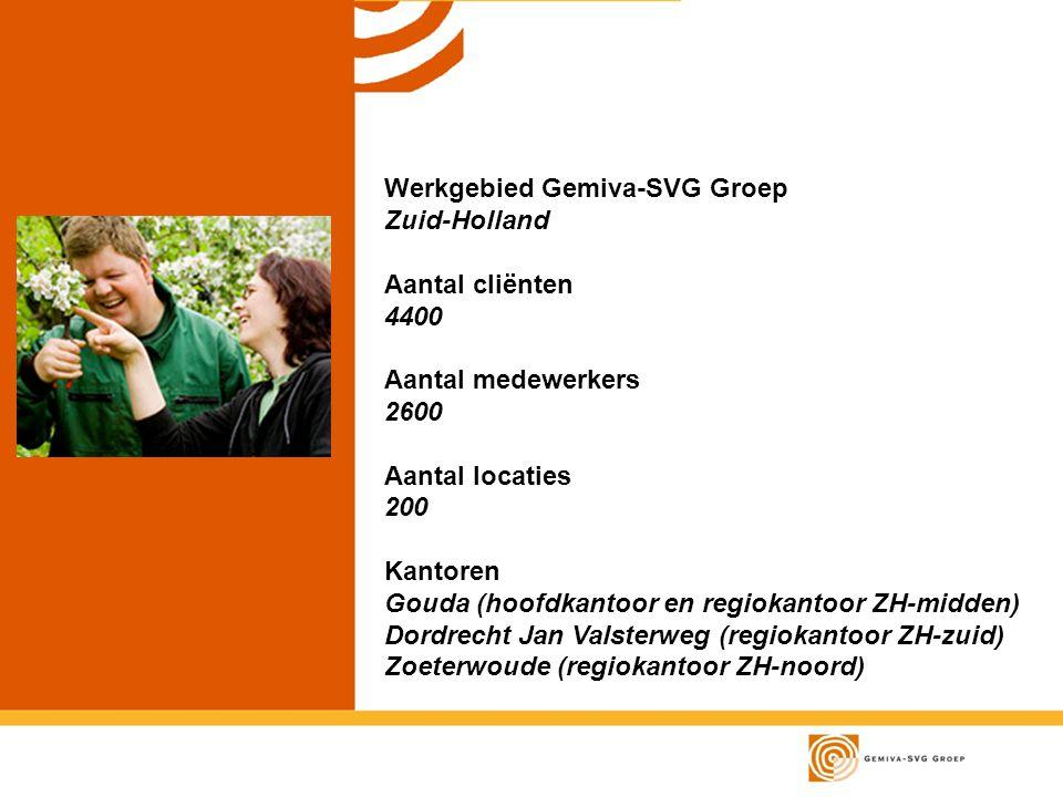 Werkgebied Gemiva-SVG Groep