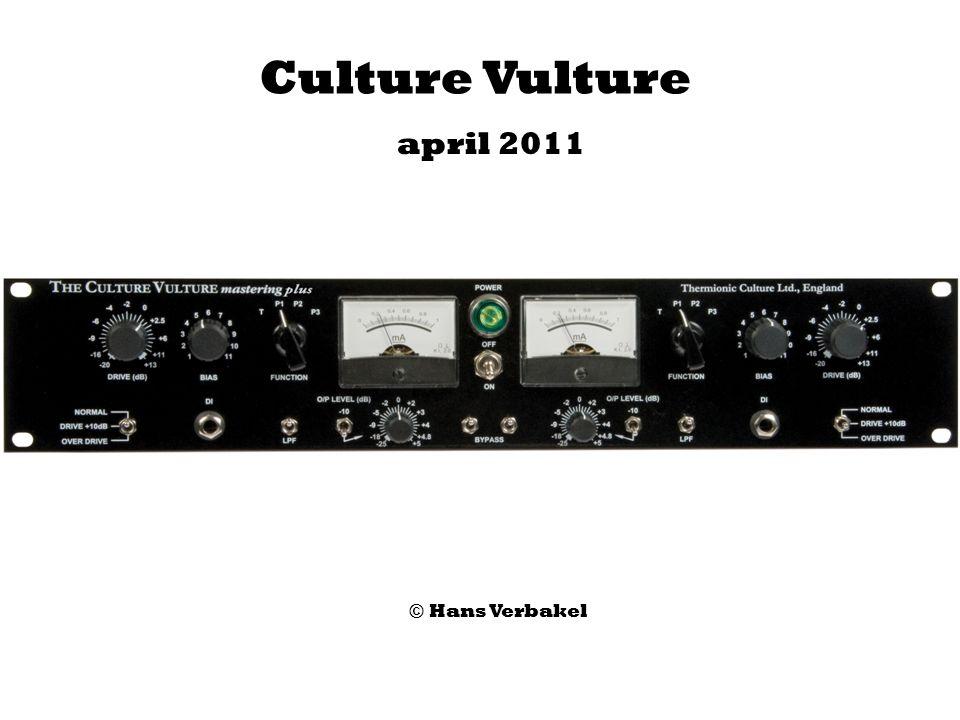 Culture Vulture april 2011 © Hans Verbakel
