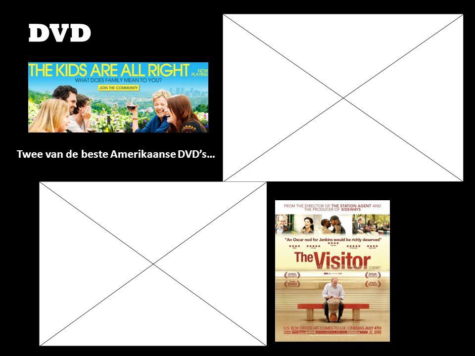 Twee van de beste Amerikaanse DVD's…