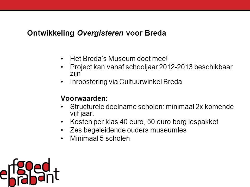 Ontwikkeling Overgisteren voor Breda
