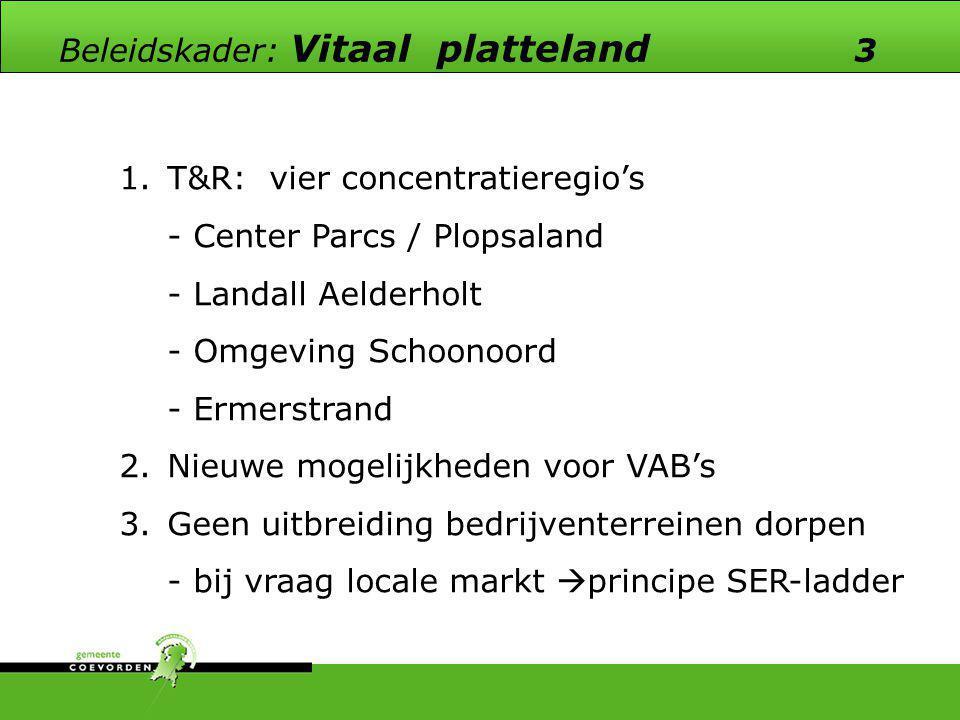 Beleidskader: Vitaal platteland 3