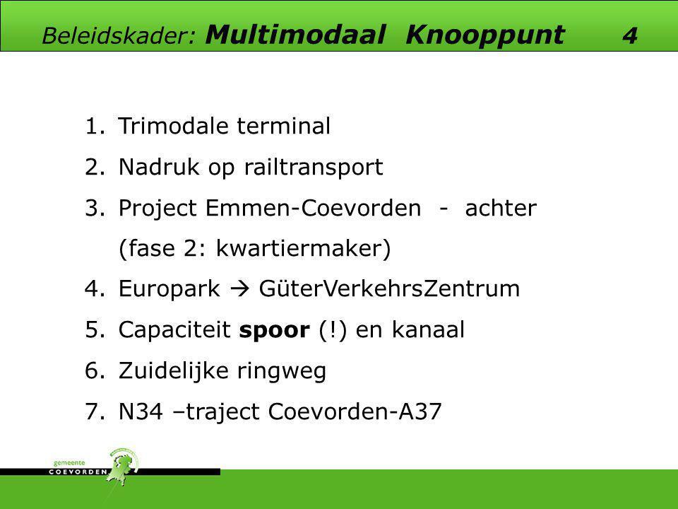 Beleidskader: Multimodaal Knooppunt 4