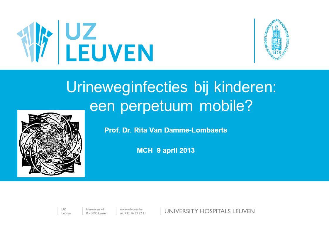 Urineweginfecties bij kinderen: een perpetuum mobile
