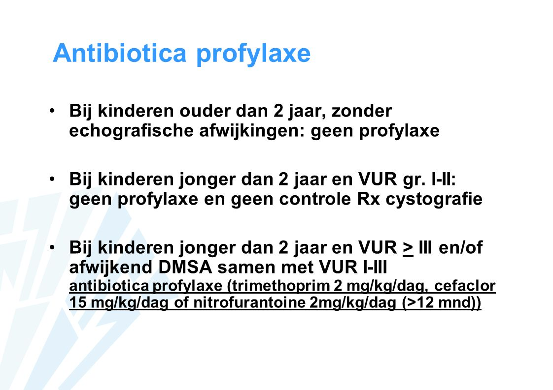 Antibiotica profylaxe