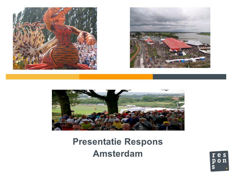 Presentatie Respons Amsterdam