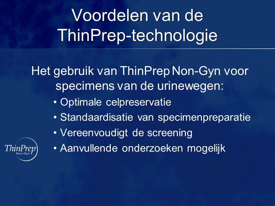Voordelen van de ThinPrep-technologie
