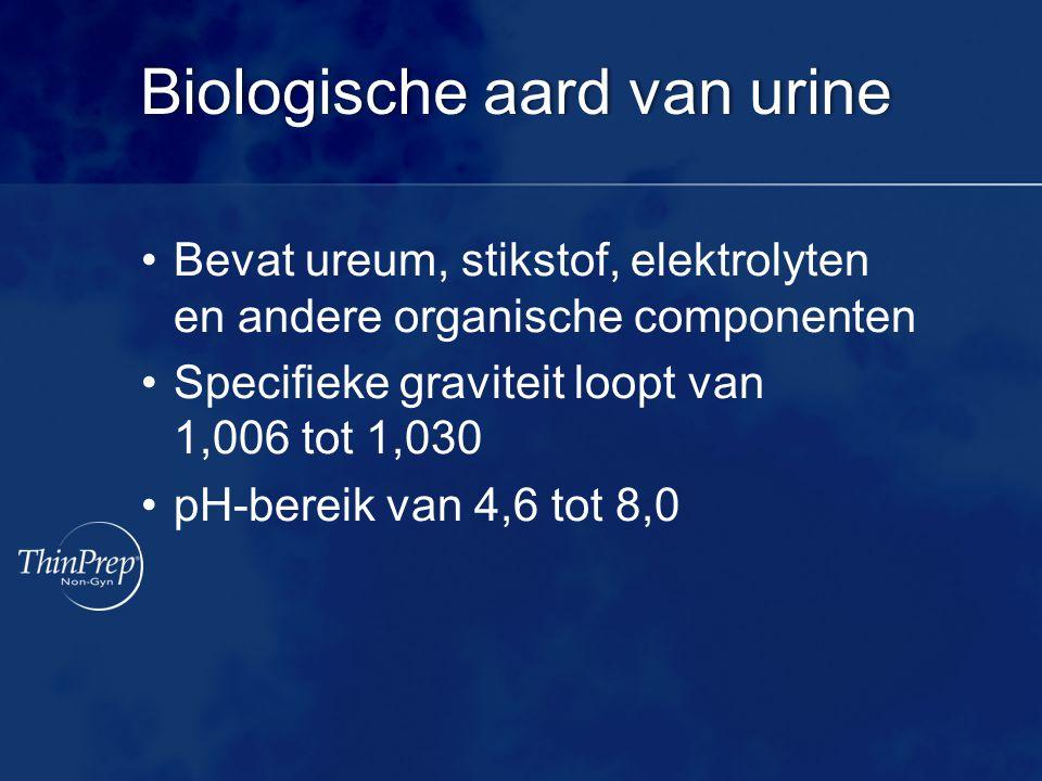 Biologische aard van urine