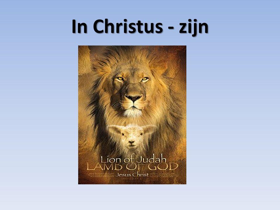 In Christus - zijn
