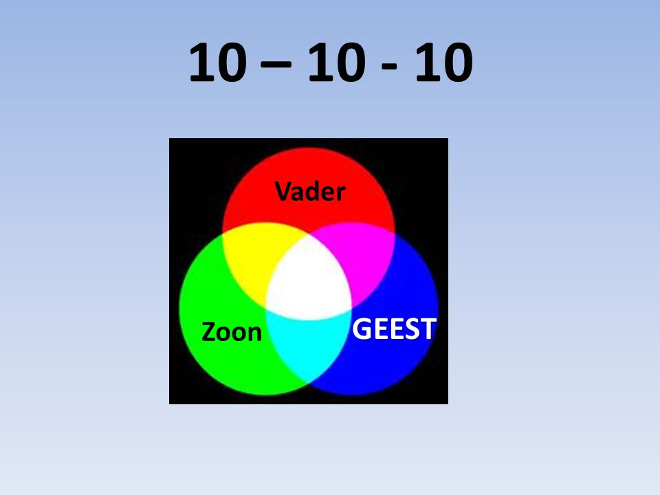 10 – 10 - 10 Vader GEEST Zoon