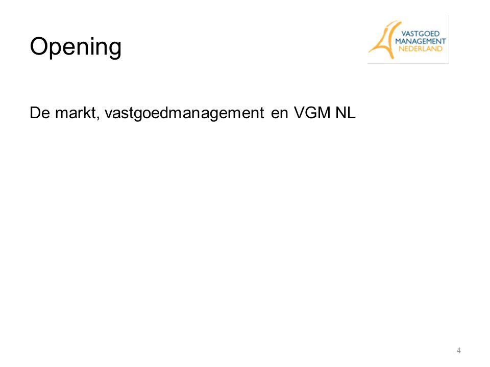 Opening De markt, vastgoedmanagement en VGM NL Allen