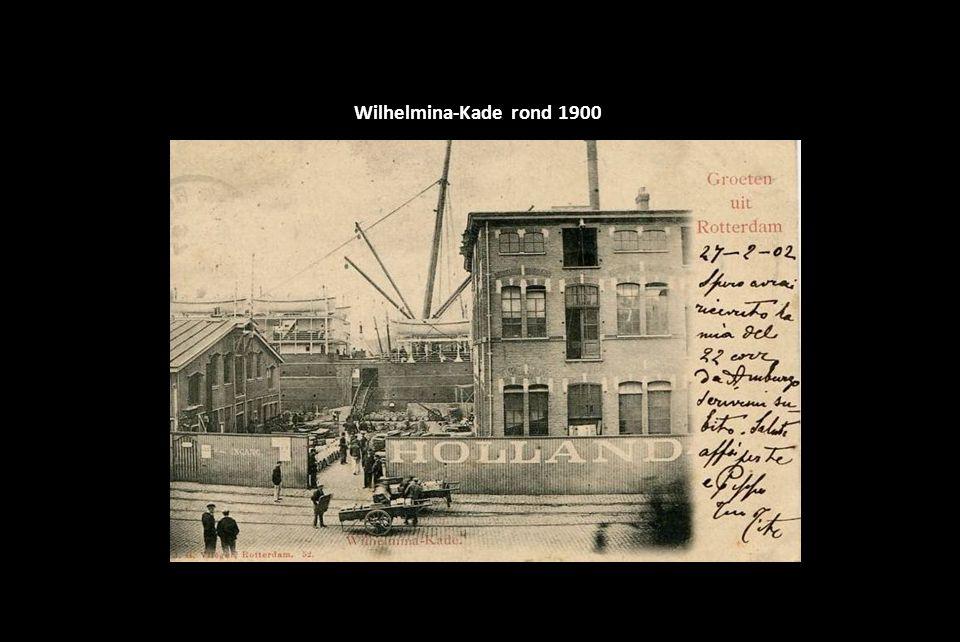 Wilhelmina-Kade rond 1900