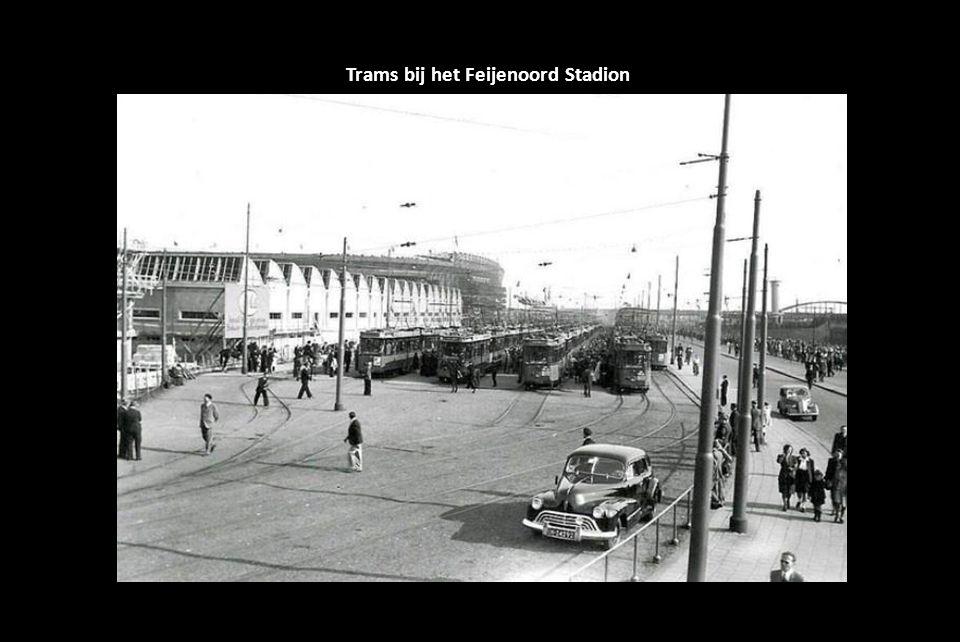 Trams bij het Feijenoord Stadion
