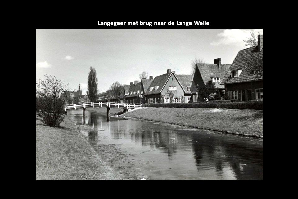 Langegeer met brug naar de Lange Welle