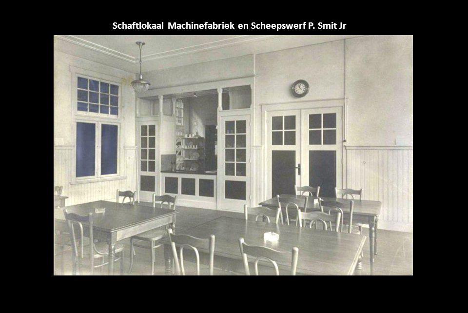 Schaftlokaal Machinefabriek en Scheepswerf P. Smit Jr